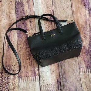 Ina Greta Court Glitter  Crossbody Bag Top Handle
